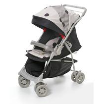 Carrinho De Bebê Vira Berço 4 Posições Galzerano Maranello