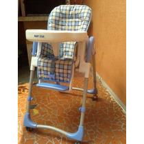 Cadeirão Ragulável Cadeira Alimentação Prático Baby Star