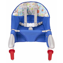 Cadeira De Refeição Azul Bebê Portátil Para Mesa Tutti Baby