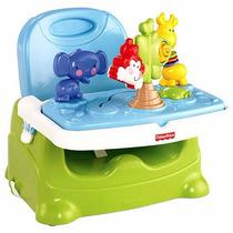 Assento Cadeira Alimentação P/ Bebê Booster Zoo Fisher Price