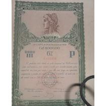 Apolice Titulo Da Divida Interna Fundada Federal 1956