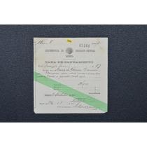 5948 Antiga Taxa De Saneamento Rio De Janeiro 1925