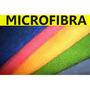 Pano Micro Fibra Carros, Limpeza Gerais 50x30 - 4 Unidades