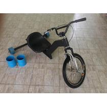 Trike Drift Profissional Luxo C/ Dois Pares De Rodas Extras