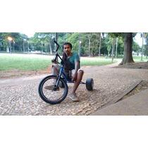 Trike Drift Com Roda De Kart Revestido De Pead Muito Seguro