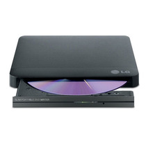 Gravador Cd/dvd Externo Usb - Lg Slim Portable Gp50 Preto