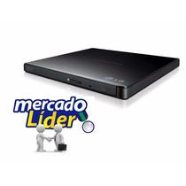 Leitor Gravador Lg Dvd E Cd Externo Usb 2.0 Ultra Slim