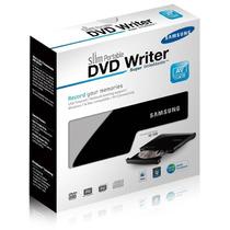 Gravador Leitor Dvd E Cd Externo Samsung Usb Preto Original