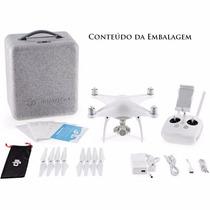 Drone Dji Phantom 4 Com Câmera De 12mp Vídeo Ultra Hd 4k