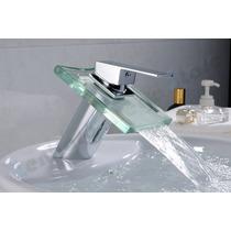 Torneira Com Bica Para Banheiro Com Misturador E Cascata