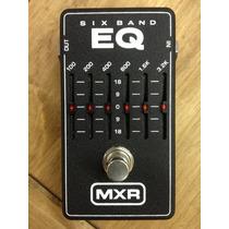 Pedal Mxr Six Band Equalizer - 100%