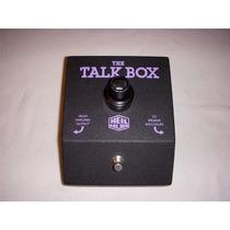 Pedal Efeito Dunlop Heil Sound Talk Box Guitarra Baixo