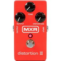 Pedal P/ Guitarra Mxr Distortion Iii Overdrive Distorção