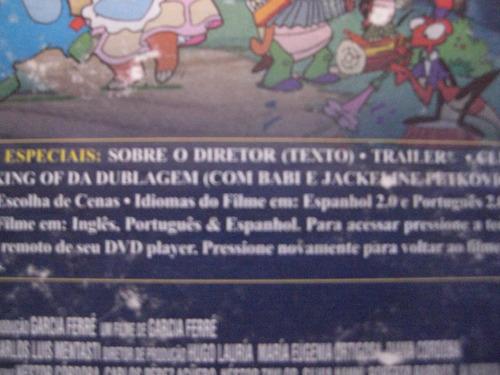Dvd A Tartaruga Manuelita + 3 Dvds Da Lista (lote