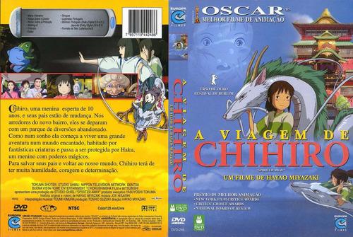 Dvd A Viagem De Chihiro