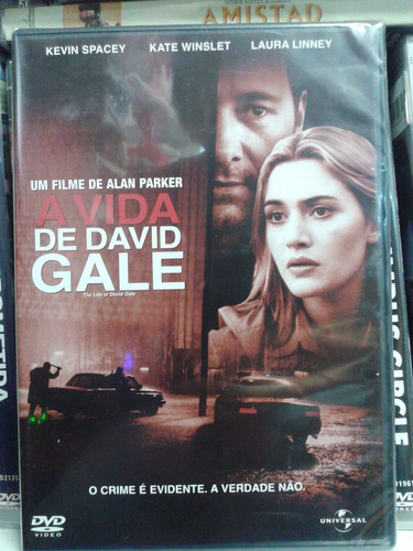 Dvd A Vida De David Gale