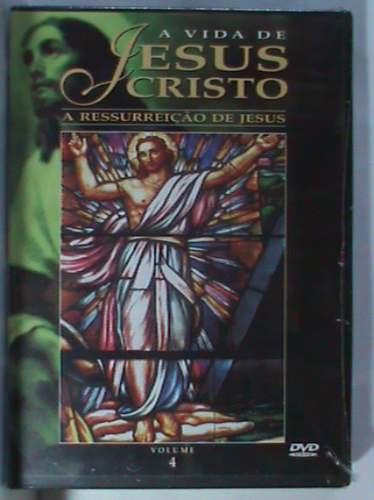 Dvd - A Vida De Jesus Cristo - Volume - 4 (lacrado)