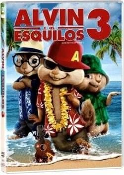 Dvd Alvin E Os Esquilos 3