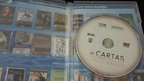 Dvd As Cartas Psicografadas Por Chico Xavier