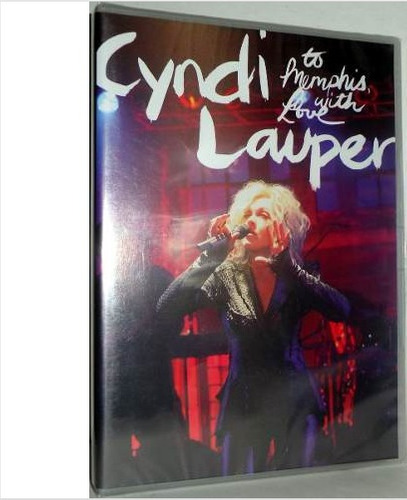 Dvd Cyndi Lauper - To Memphis, With Love Lacrado
