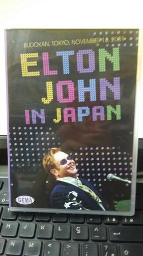 Dvd Elton John In Japan