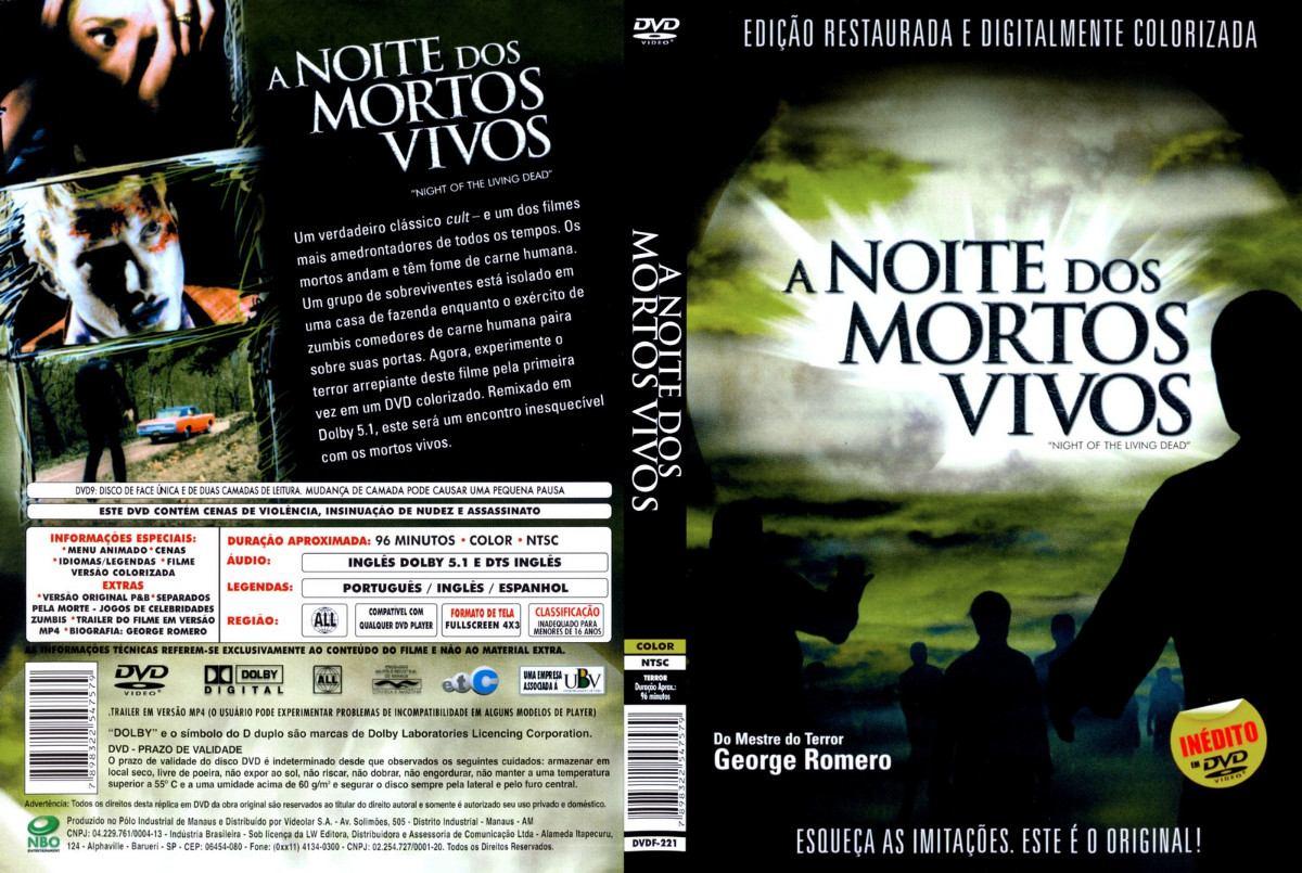 Filme Mortos Vivos for a noite dos mortos vivos - r$ 12,90 em mercado livre