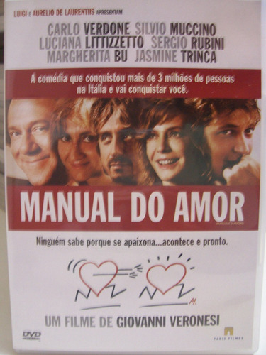 Dvd - Manual Do Amor