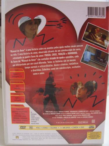 Dvd - Manual Do Amor