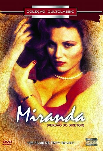 Dvd Miranda Novo Original Lacrado Cinema Europeu Tinto Brass