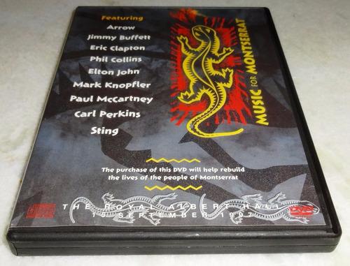 Dvd - Music For Montserrat