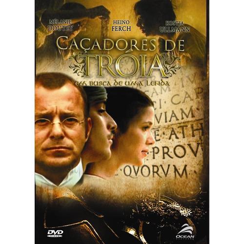 Dvd Original Caçadores De Tróia ( Melaine Doutey)