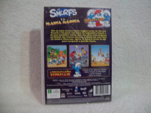 Dvd Original Os Smurfs E A Flauta Mágica