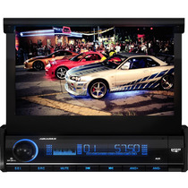 Dvd Retrátil 7 Aquarius Dpa 3001 Usb Touch Screen Mp3