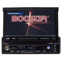 Dvd Automotivo Booster Retratil 9680 Gps Tv Ipod Usb Sd