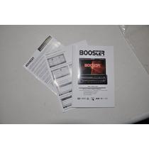 Manual Inglês- Aparelho Dvd P/ Carro Booster Bmtv-9980dvusbt