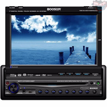 Dvd Player Booster 9750 Tela 7 Touch Tv Bluetooth + Brinde