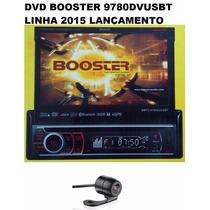Dvd Retratil Booster 9780 Gps Tv Camera Usb + Brinde