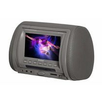 Tela Encosto Cabeça Booster Lcd 7 Reproduz Dvd Cd Usb Sd