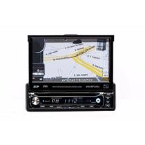 Dvd Automotivo Gps Tela Retrátil 7 Polegadas Tv Bluetooth Sd