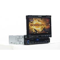 Multimidia Dvd Automotivo Tela Retrátil Tela 7 Polegadas Tv