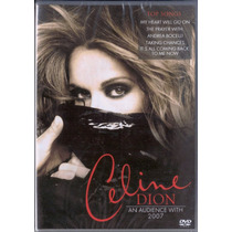 Dvd Celine Dion - An Audience With 2007 (lacrado)