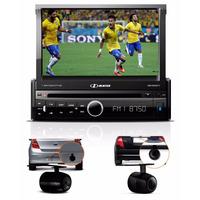 Dvd Player H-buster Hbd-9820dtv Retrátil 7 Com Tv Câmera Ré