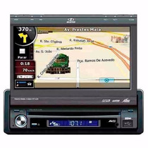 Dvd Player Retrátil 7 Gps H-buster Hbd9660 Usb Aux E Tv Dig