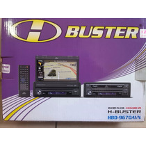 Dvd Player H-buster Hbd-9670avn Retrátil 7´ C/ Gps Integrado