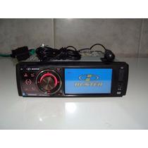 Dvd Player H Buster Hbd 9350 Av Mp3 Lcd 3,5 Usb Sd Bluetooth