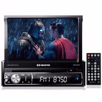 Dvd H-buster Hbd-9830av Completo Cd Usb Tela Lcd 7 Retrátil