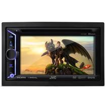 Toca Cd Dvd Jvc Kw-v30bt 6,1 Usb Bluetooth Hdmi Radio Am Fm