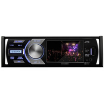 Dvd Cd Usb Player C/ Tv Digital 3 Pol. Flipdown Jvc Kd-av500