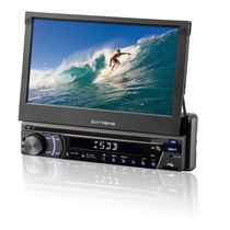 Dvd Player Tela 7 Retratil Touch Tv Gps Multilaser P3296