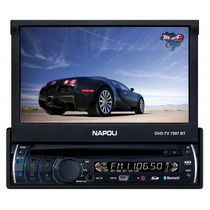 Dvd Automotivo Retratil Napoli 7997 Bluetooth -tv-sd-usb